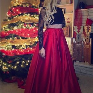 Full Ballgown Skirt with Pockets